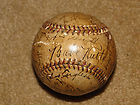 1932 team signed Yankee ball with Ruth & Gehrig.