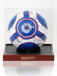 Glasgow Rangers F.C. 2011/12 Squad Hand Signed Football Ball