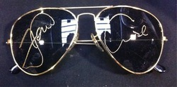 Tom Cruise Autograph Aviator Top Gun Style Sunglasses Signed In Person