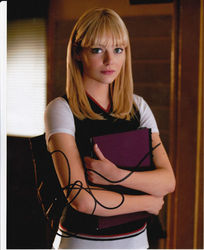 Emma Stone Signed The Amazing Spiderman 10x8 Photo