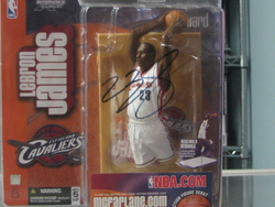 LeBron James signed Rookie McFarlane
