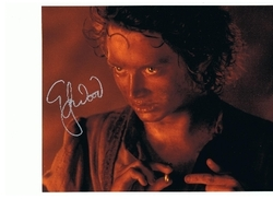 Elijah Wood Signed Lord Of The Rings 10x8 Photo