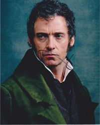 Hugh Jackman AUTOGRAPH Les Miserables SIGNED IN PERSON 10x8 photo