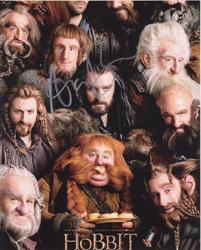 Adam Brown Autograph The HOBBIT signed in person 10 x 8 photo