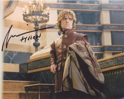 Peter Dinklage Autograph Game Of Thrones signed in person 10x8 photo