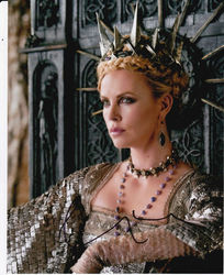 Charlize Theron Signed Snow White & The Huntsman 10x8 Photo