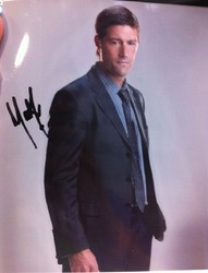 Matthew Fox Autograph LOST Signed In Person 10x8 Photo
