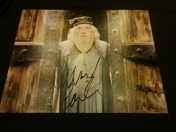 Michael Gambon Autograph Harry Potter signed in person 10 x 8 photo