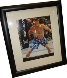 "Charles David ""Chuck"" Liddell Signed Colour Photo"