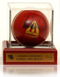Chris Tremlett 'HAND SIGNED' Cricket Ball