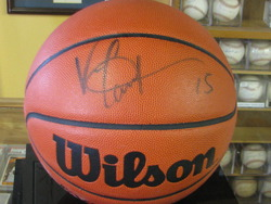 Vince Carter Autographed Basketball