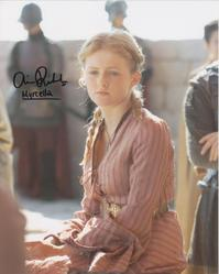 Aimee Richardson Autograph Game Of Thrones signed in person 10x8 photo