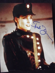 Janssen, Famke - 'X-Men' and James Bond's 'Goldeneye'. 007-  Original autograph - UACC Reg.Dealer #251