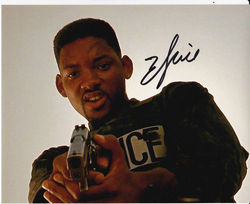 Will Smith Autograph BAD BOYS signed in person 10x8 photo