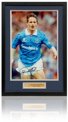 "Paul Walsh Hand Signed 12x8"" framed Portsmouth F.C. photograph"