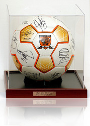 HULL CITY Hand Signed Football Ball 2010/11 Squad