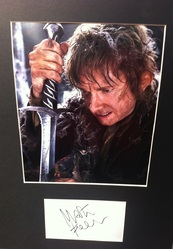 "Martin Freeman Signed Index Card ""Hobbit"" Presentation"
