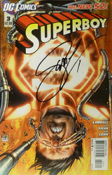 DC, Superboy #3, 1st printing, signed by Scott Lobdell