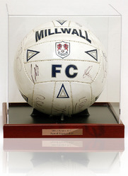 Millwall Squad signed football LOT811