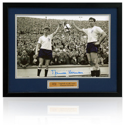 Maurice Norman 1962 FA Cup Final hand signed photo