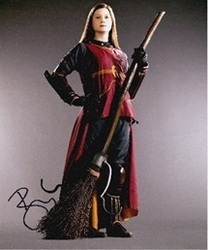 Bonnie Wright Autograph Harry Potter Signed In Person 10x8 Photo