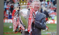Sir Alex Ferguson signed Photo