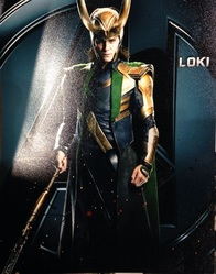 Tom Hiddleston Autograph Loki in The Avengers Signed In Person 10x8 Photo