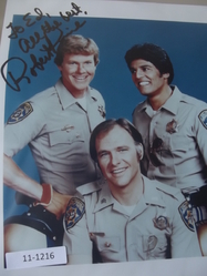 Pine, Robert - authentic autograph