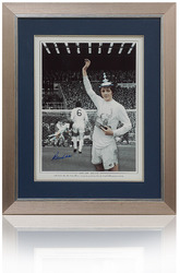 Allan Clarke hand signed 1972 FA cup Final montage