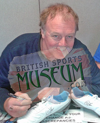 Kerry Dixon Chelsea F.C. Hand Signed Football Boot