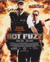 Edgar Wright AUTOGRAPH Hot Fuzz SIGNED IN PERSON 10 x 8 photo