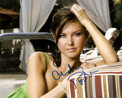 Audrina Patridge signed 10x8 photo.