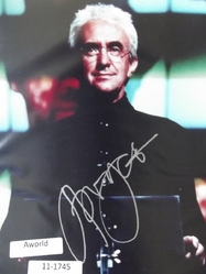 "Pryce, Jonathan - authentic autograph - 007 - BOND - ""Tomorrow Never Dies"""