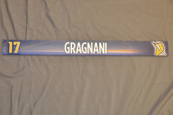 Marc-Andre Gragnani Buffalo Sabres Locker Room Nameplate 2009-10 Season