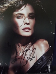 Carol Alt authentic autograph