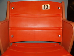 "Orange ""Aud"" Seat - Buffalo Sabres"