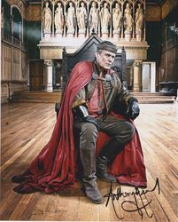 Anthony Head Autograph MERLIN signed in person 10x8 photo