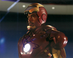 Robert Downey Jr signed 10x8 photo.
