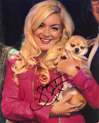 SHERIDAN SMITH SIGNED 10X8 PHOTO