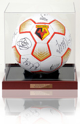 Watford F.C. 2011/12 Squad Hand Signed Football