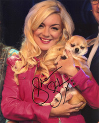 Sheridan Smith signed 10x8 photo.
