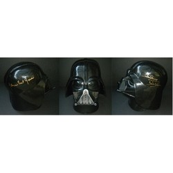 James Earl Jones & Dave Prowse signed DARTH VADER HELMET