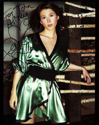 8x10 signed Jewel Staite photograph