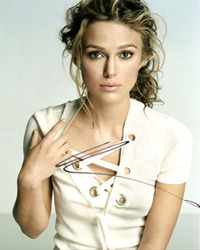 Keria Knightley Signed 10x8 picture