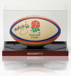 Lawrence Dallaglio Hand Signed Rugby Ball