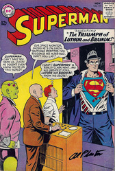 DC, Superman #173, 1st printing, signed by Al Plastino