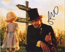 James Franco AUTOGRAPH Oz the Great and Powerful SIGNED IN PERSON 10x8 photo