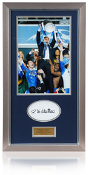 Roberto Di Matteo Hand Signed European Cup Final Framed Chelsea FC