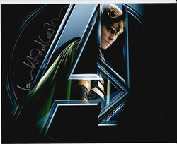 Tom Hiddleston Signed The Avengers 10x8 Photo
