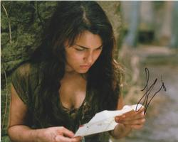 Samantha Barks AUTOGRAPH Les Miserables SIGNED IN PERSON 10x8 photo